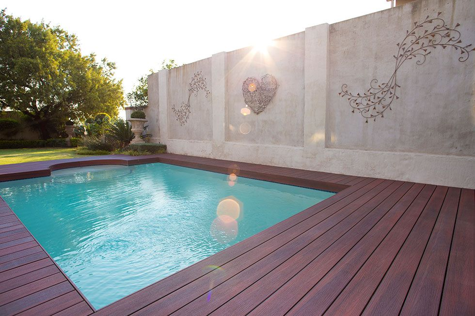 Redoing The Decking Around A Bunch Of Pools Has Made Me Realize That The Best Decking For A Salt Water Pool Is A Super Tough Com Saltwater Pool Pool Pool Decks