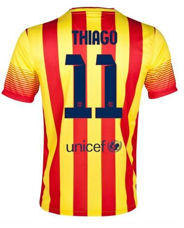 Nouveau Barcelone Maillot de football Exterieur 13 14 Nike Collection11 Thiago http://www.theemfstore.com/Achat-Barcelone-Maillot-de-football-Exterieur-13-14-Nike-Collection11-Thiago-en-ligne-p-1368.html