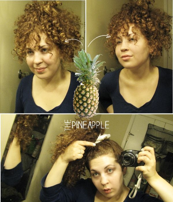 Light A Candle The Pineapple Method For Curly 2nd Day Hair I Do This When I Go To Sleep It Is Not The Curly Hair Tips Curly Hair Styles Natural Hair