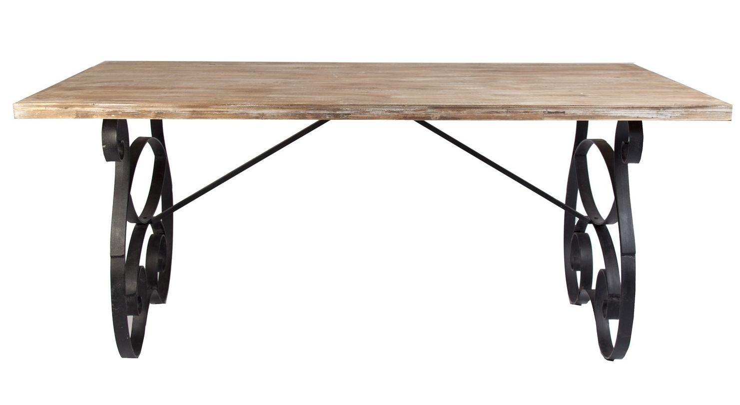 mesa de comedor vintage butterfly en demarqueses - Mesa Comedor Vintage