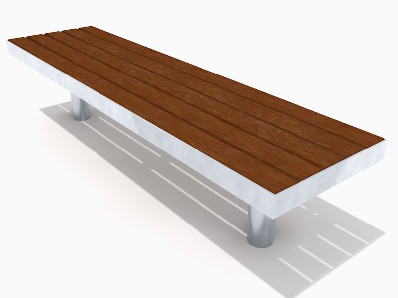 The straight Tree bench has been designed to withstand the heaviest town centre treatment and features an incredibly strong all welded stainless steel frame and easily replaceable FSC® timber slats. http://factoryfurniture.co.uk/index/products/seating/tree-range/straight-tree-bench.html