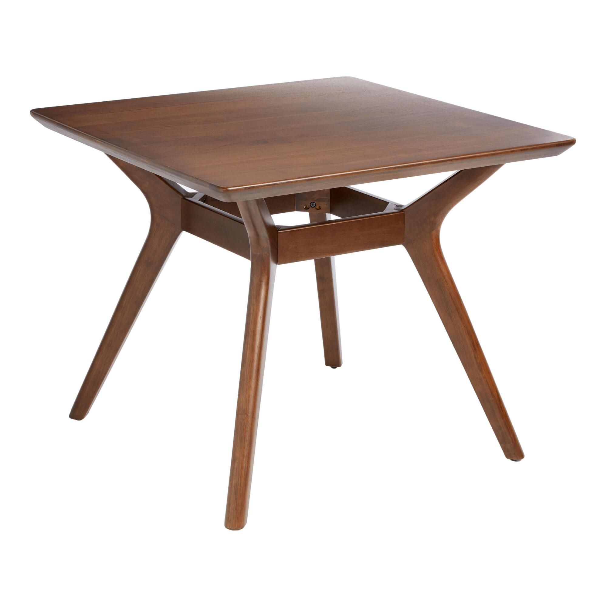 Square Mid Century Edith Dining Table In 2020 Dining Table