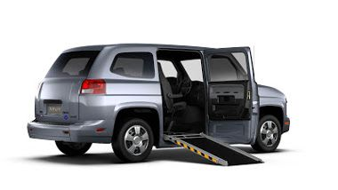 Mv 1 Accessible Vehicle Performance Mobility Handicap Vehicle