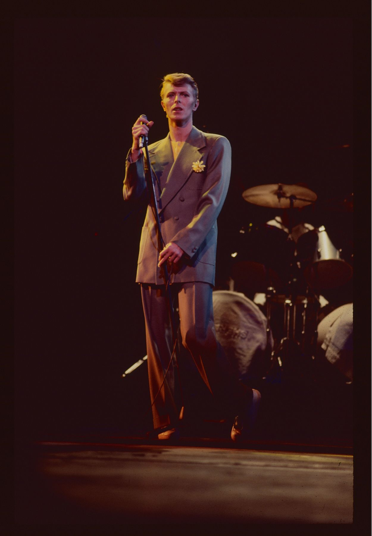 Check out never-before-seen photos of David Bowie from his 1978 Isolar II Tour stop in Chicago.