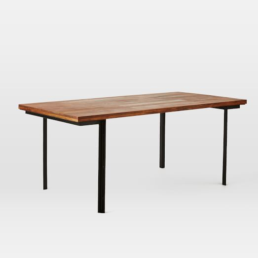 West Elm Industrial Dining Table With Images Industrial Dining Table Contemporary Dining Table Dining Table In Kitchen