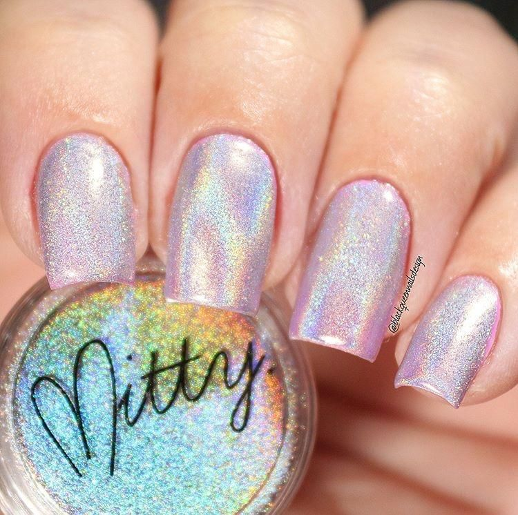 Mitty Magical Fairy Dust Holo Nail Art Powder | Holo powder, Chrome ...