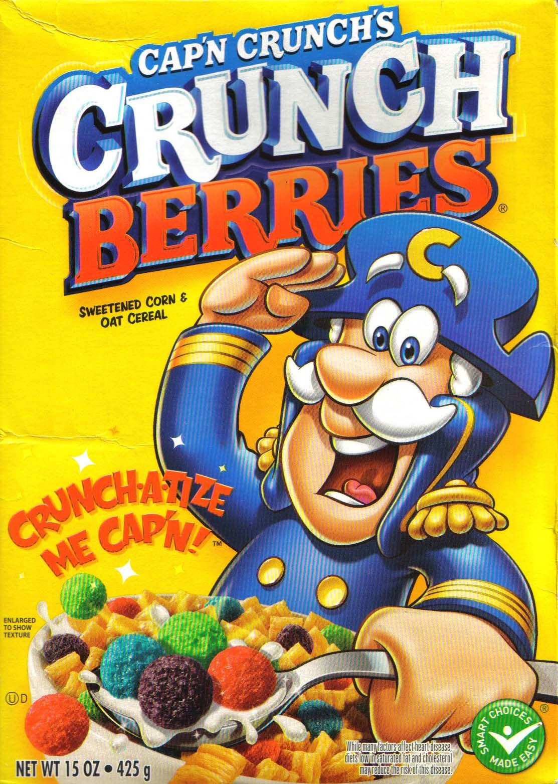 Woman Sues Cap N Crunch Because Crunchberries Are Not