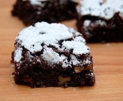 Brownies con Pecanas (Pecan Brownies)