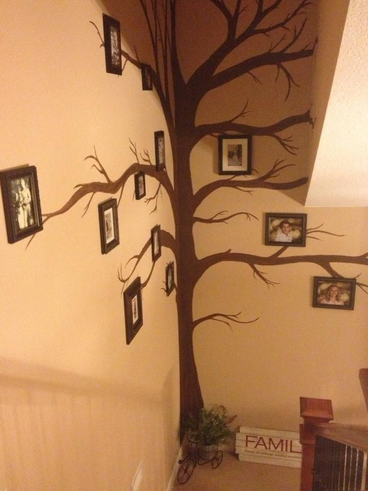 The Family Tree Wall My Daughter Helped Me Paint Family Tree