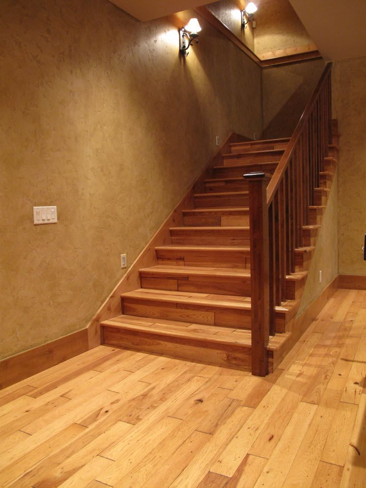 Stair Systems Minnesota Stairs Window Toppers Interior | Knotty Alder Stair Railing | Distressed | Diy | Interior | Indoor | Wood