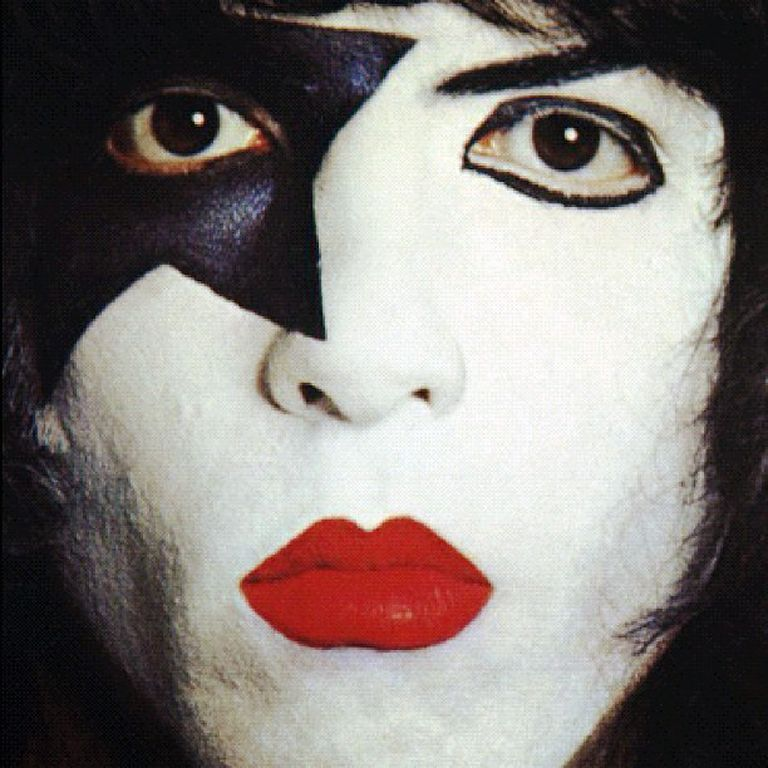 Kiss Band Members With Makeup: Paul Stanley, Kiss