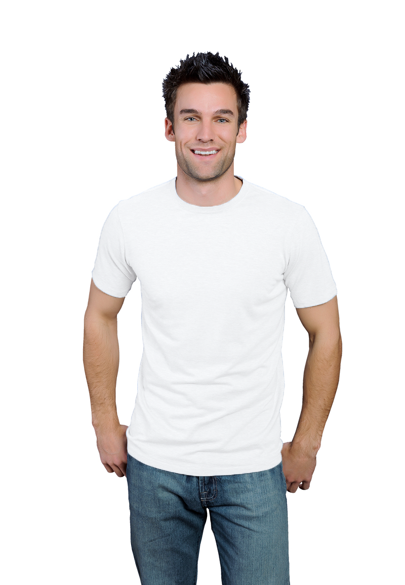 white ONNO bamboo and organic cotton t-shirt for men. Great to wear by itself or as a soft under shirt. Also available in hemp.