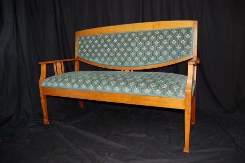 Jugendstielsofa-Biedermeier-Sofa-2-Zeit-Polsterbank-um-1900 - sofa für küche