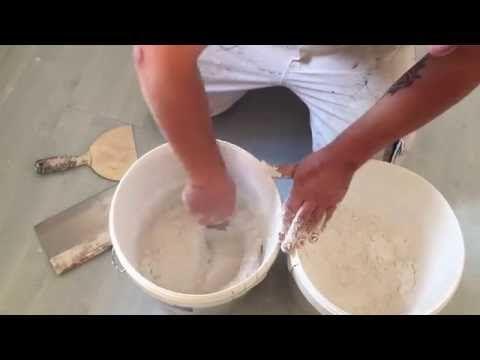 Comment enduire un mur avant de le peindre: démonstration d'un pro! Tuto #6 - YouTube
