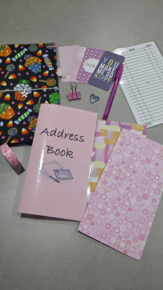 Travellers Notebook Style Starter Kit  'Made to by DesignedByCaz