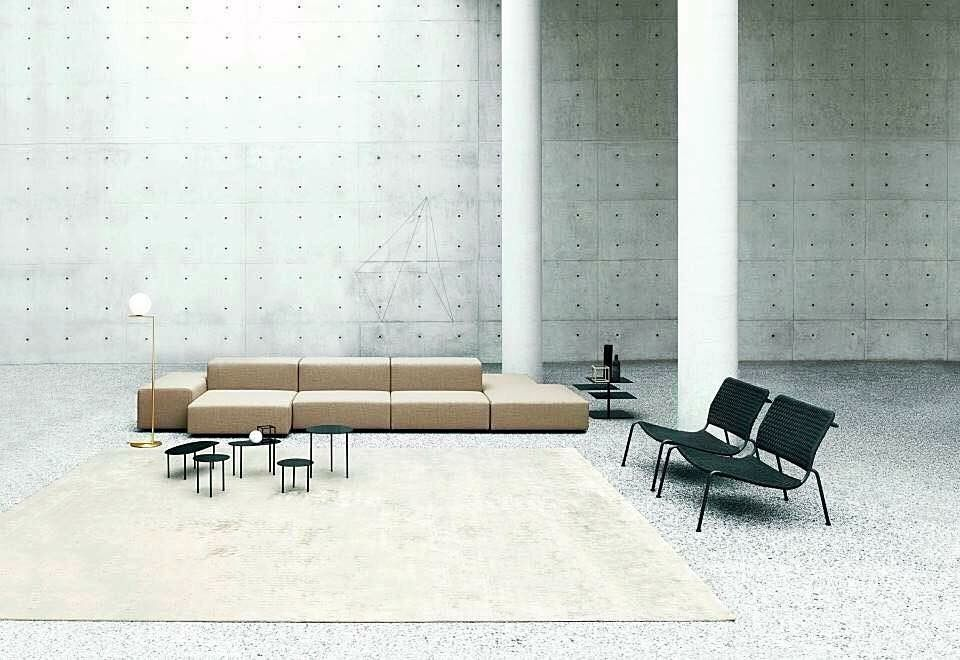 Living Divani, made in Italy: Extra Wall sofa & Carbon Frog ...
