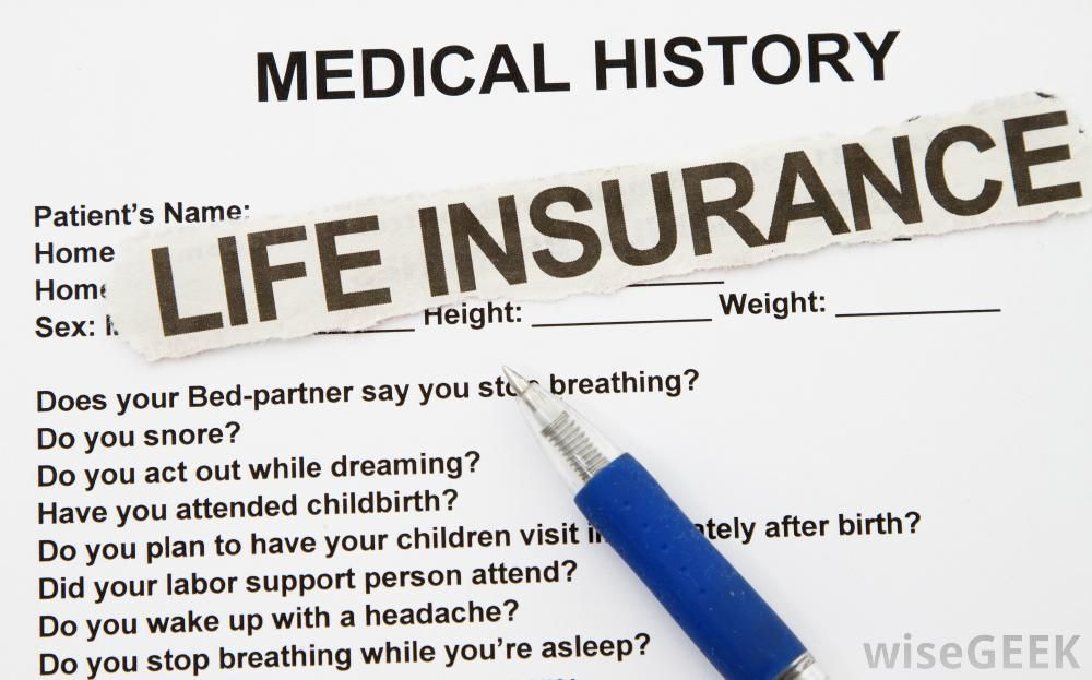 Life Insurance Medical Exam Questions