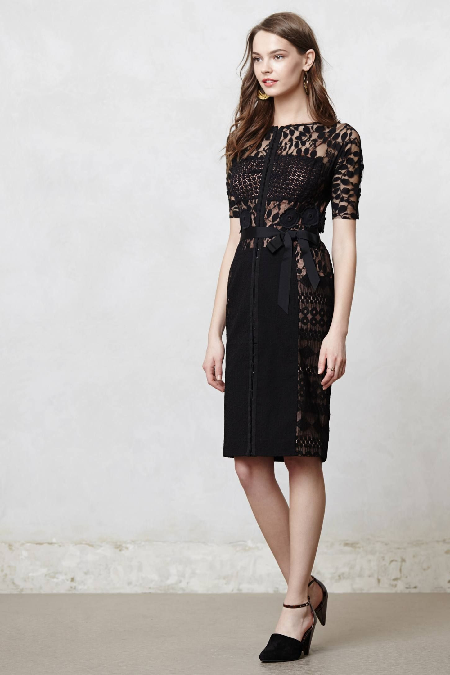 552c8cef72bd Carissima Sheath - anthropologie.com. Carissima Sheath - anthropologie.com Byron  Lars, Black Tie Affair, Lace Dress,