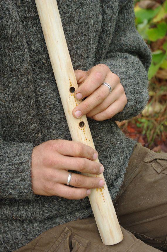 Japanese Shakuhachi Wooden Aspen Flute Traditional Wooden Flutes