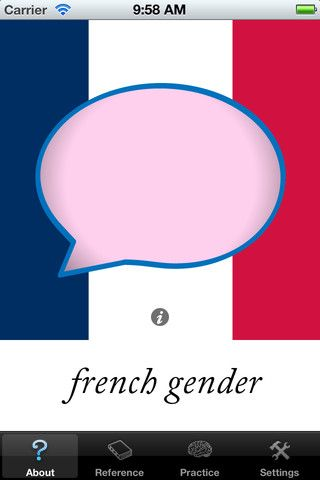French Gender On The App Store On Itunes Learning Spanish Spanish Kids Teaching French