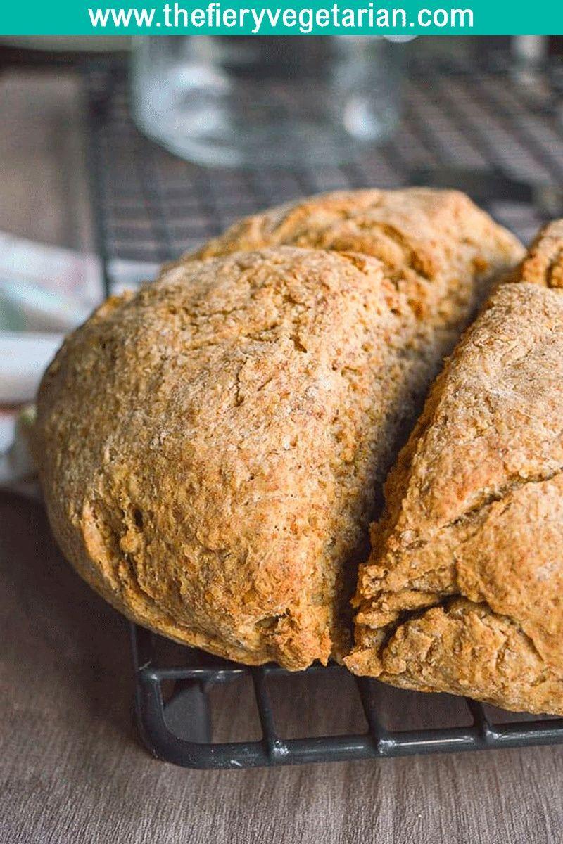Vegan Traditional Irish Soda Bread In 2020 Vegan Soda Traditional Irish Soda Bread Buttermilk Recipes