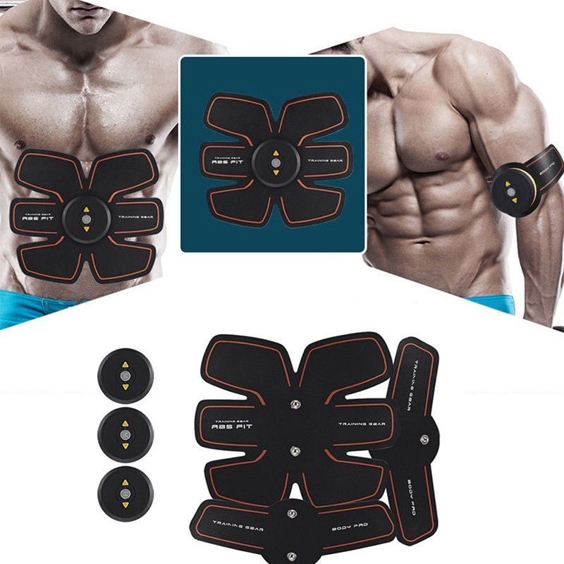 Unisex ABS Stimulator Abdominal Toning Gym Fitness Workout Muscle Training Tool