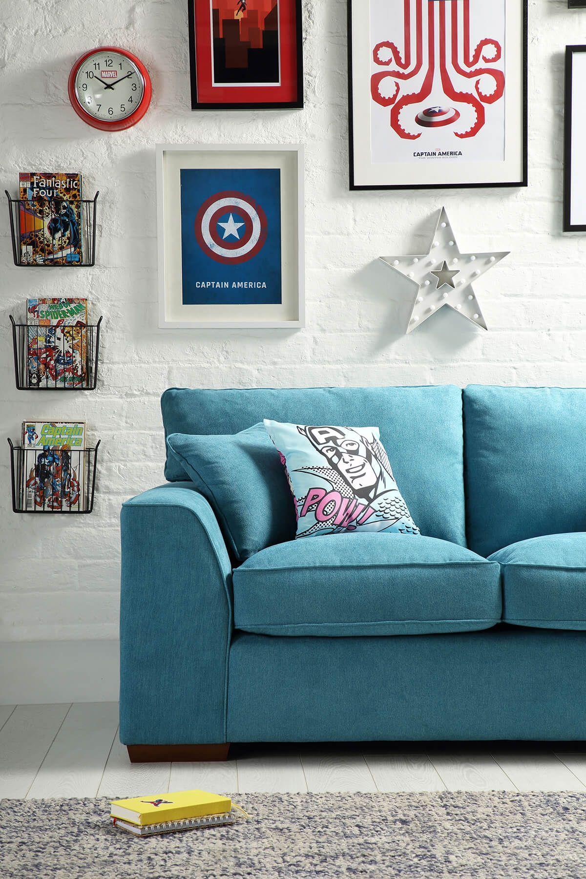 Geek Living Room Decor Geek Living Room Geek Geek Living Room Geek Living Room Ideas Geek In 2020 Marvel Room Marvel Decor Simple Living Room Decor