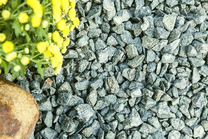 Green Granite Gravel 20mm Green Granite Decorative Gravel Outdoor Pathways
