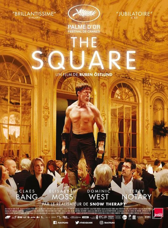 Image result for THE SQUARE ( 2017 ) POSTER