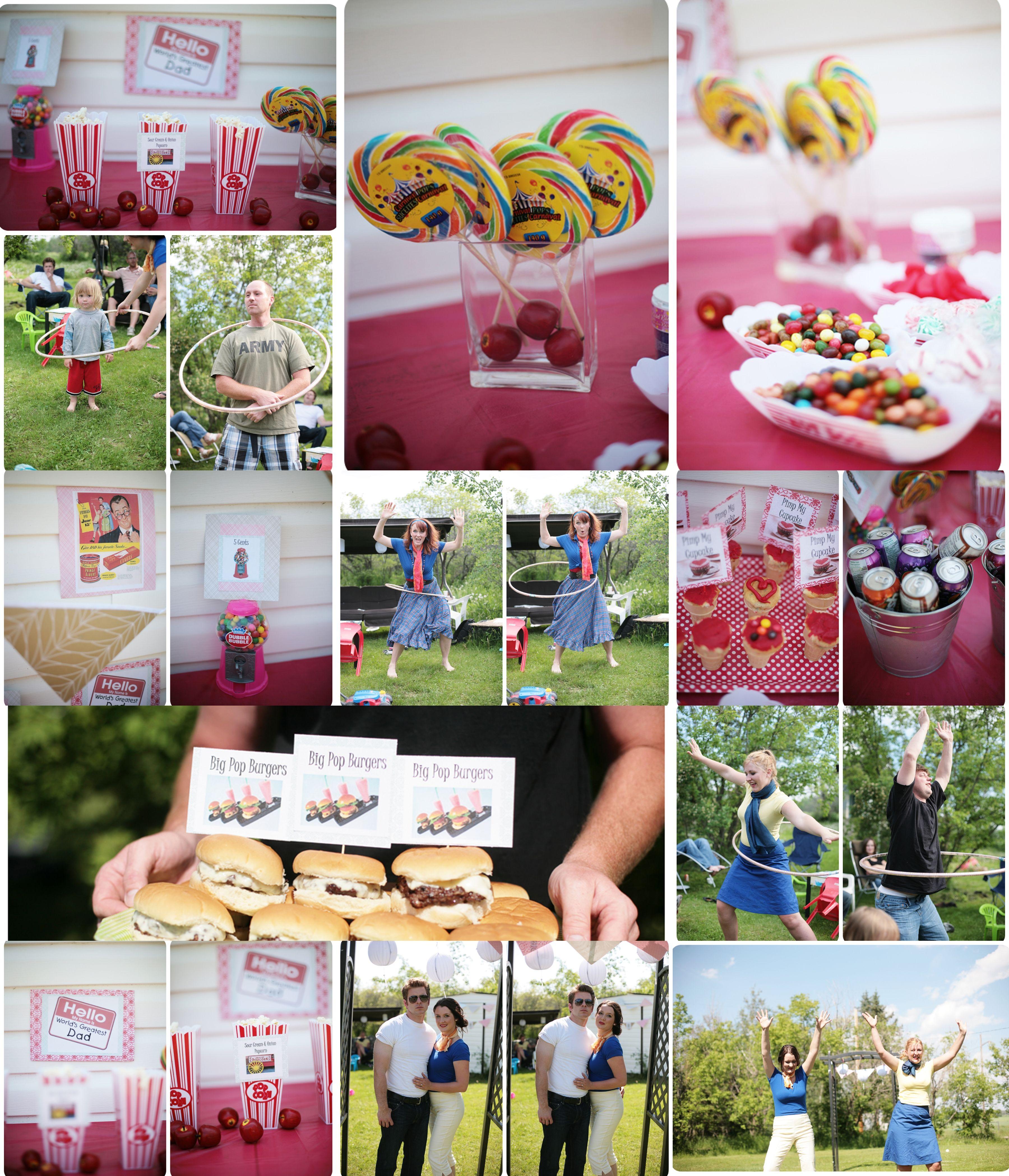 50s Themed Wedding Fathers Day Radelle Style Edmonton Wedding