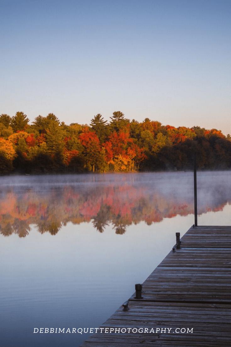 Autumn Lake And Fall Colors Sunrise Photography Print Landscape Photography Autumn Lake Landscape Photography Tips