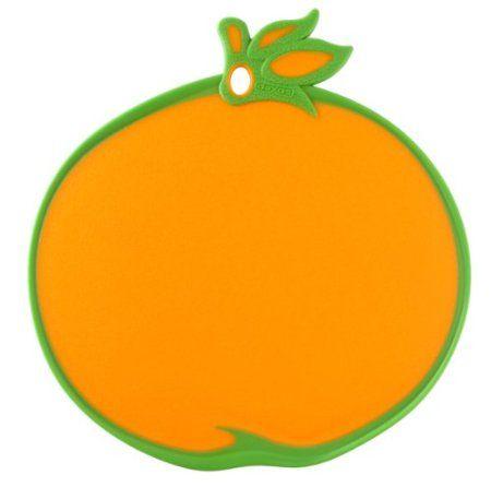 Orange cutting board #kitchen