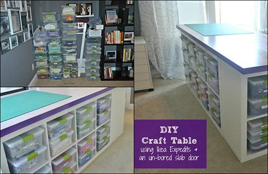 How To Build A DIY Craft Table
