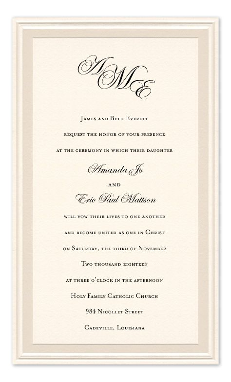 Marriage Cards Invitations Lily Wedding
