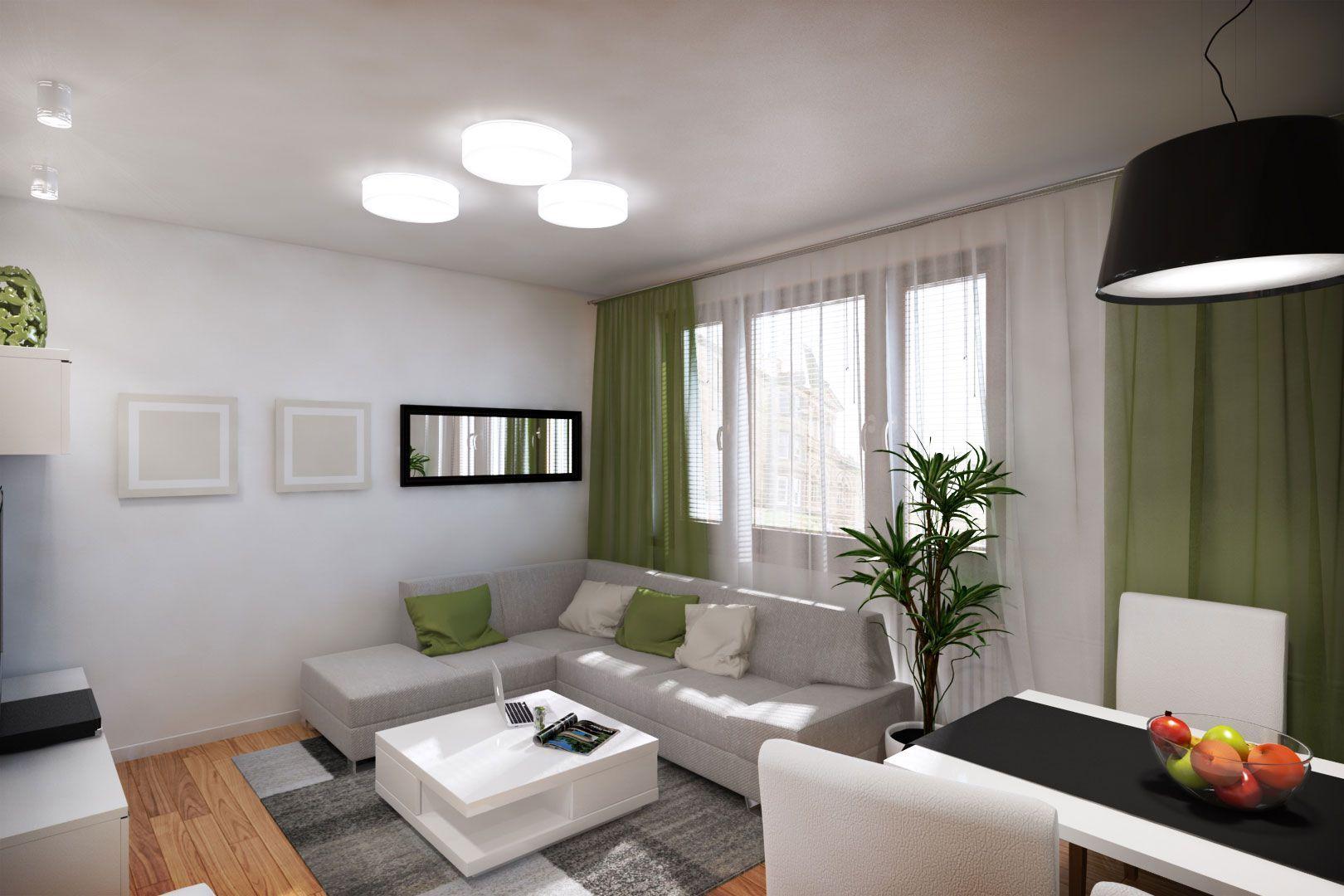 Diseño de pequeño departamento de 62 m² de dos dormitorios