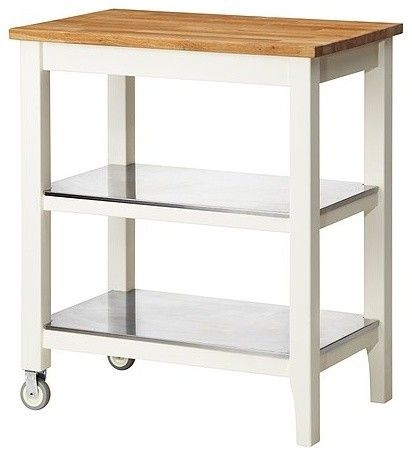 White Possible Kitchen Island Options Have This And Love It Super Sy A Great Height For Working On