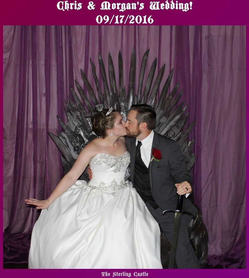 #photobooth #ironthrone #weddingphotobooth # ...