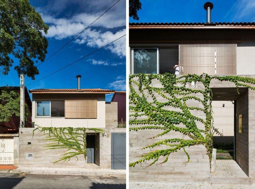 Casa Sagarana by Rocco Arquitetos & Casa Sagarana by Rocco Arquitetos | House facades Facades and Doors Pezcame.Com