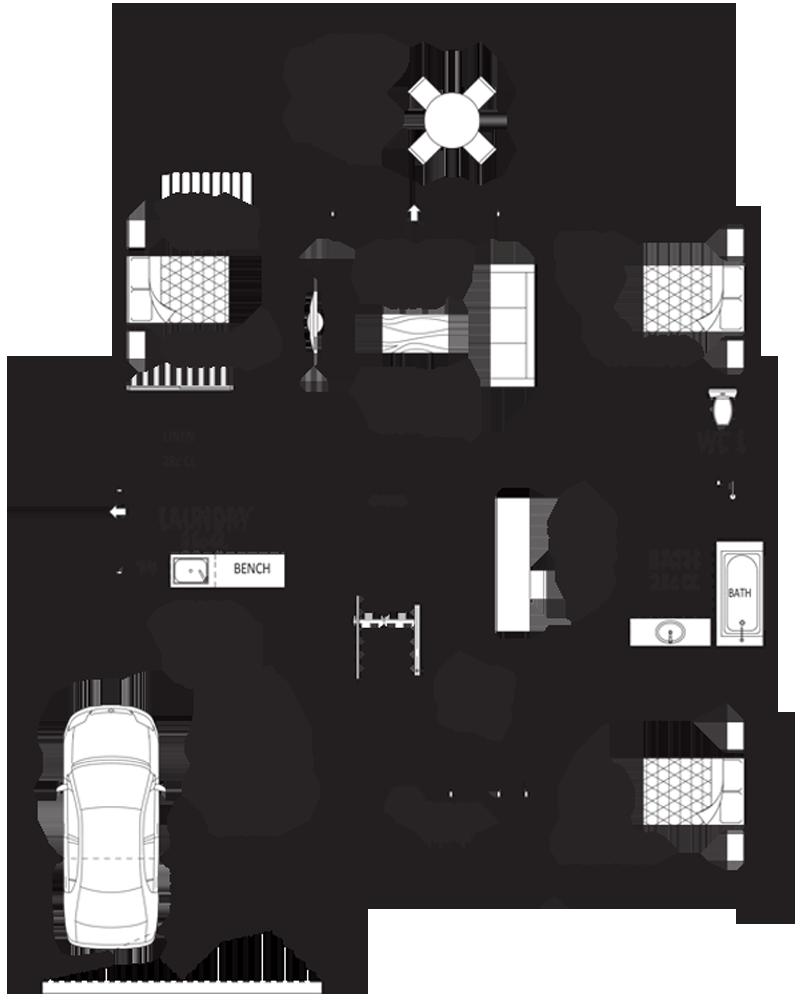 Grange 2 Storey Upside Down Home Design For Rear Views Novus Homes House Plans Australia Upside Down House Floor Layout