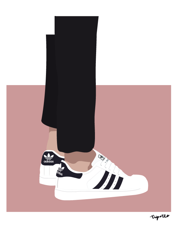 sklep internetowy kup sprzedaż niepokonany x Adidas Superstar ll illustration by TIIPOTTO | 2 | Rysunki ...