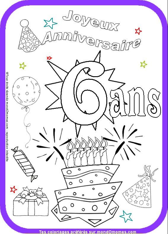 carte invitation anniversaire fille 6
