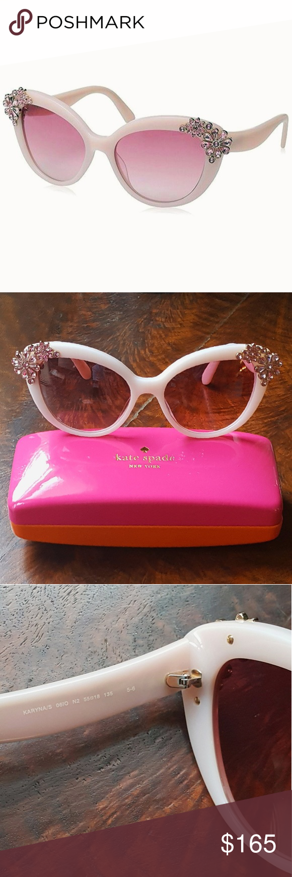 9c52111a1ee Kate spade pink crystal cat eye sunglasses kate spade karyna sunglasses  floral png 580x1740 Kate spade