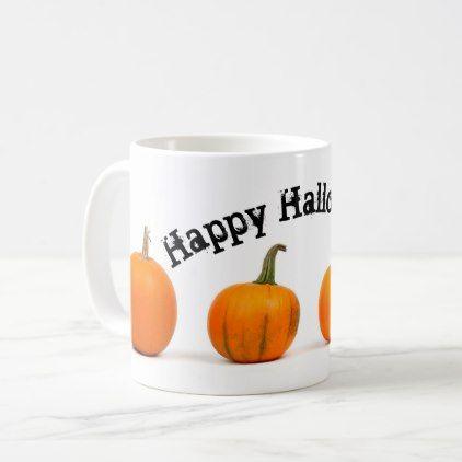 Happy Halloween Design Coffee Mug - halloween decor diy cyo