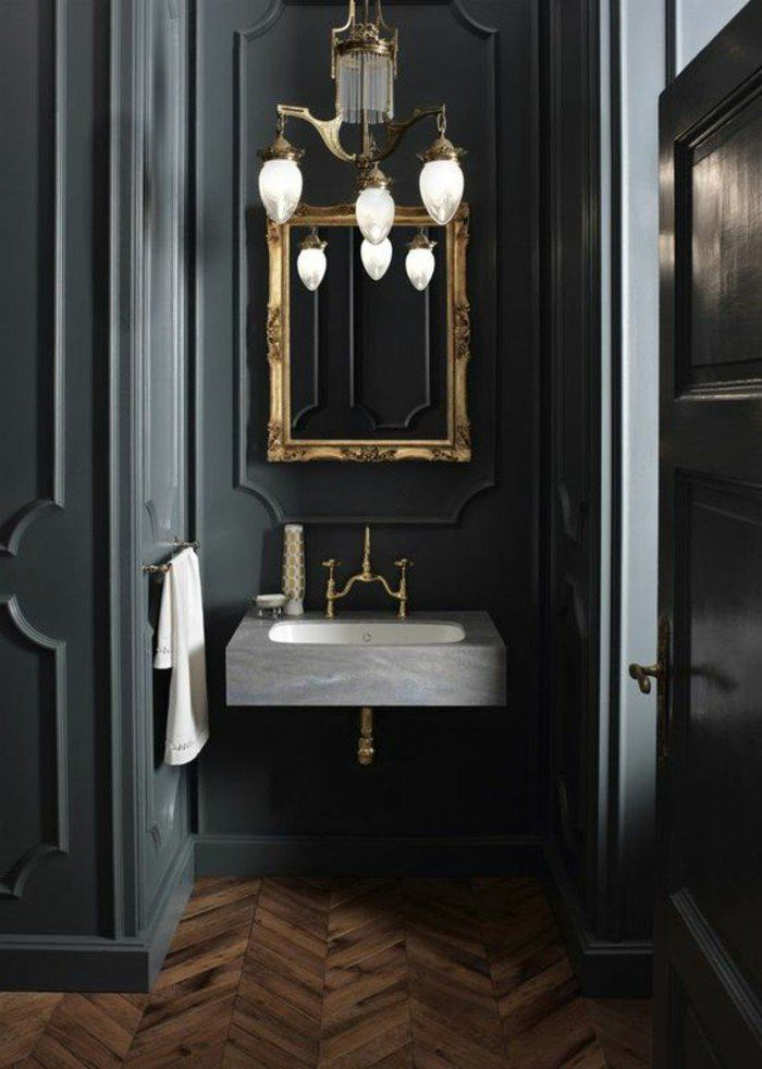 Quelle couleur salle de bain choisir? 52 astuces en photos!   WC ...