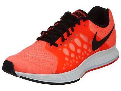 sports shoes 214ac 7485f ... ireland nike air zoom pegasus 31 mens 652925 801 hot lava athletic running  shoes sz 9.5