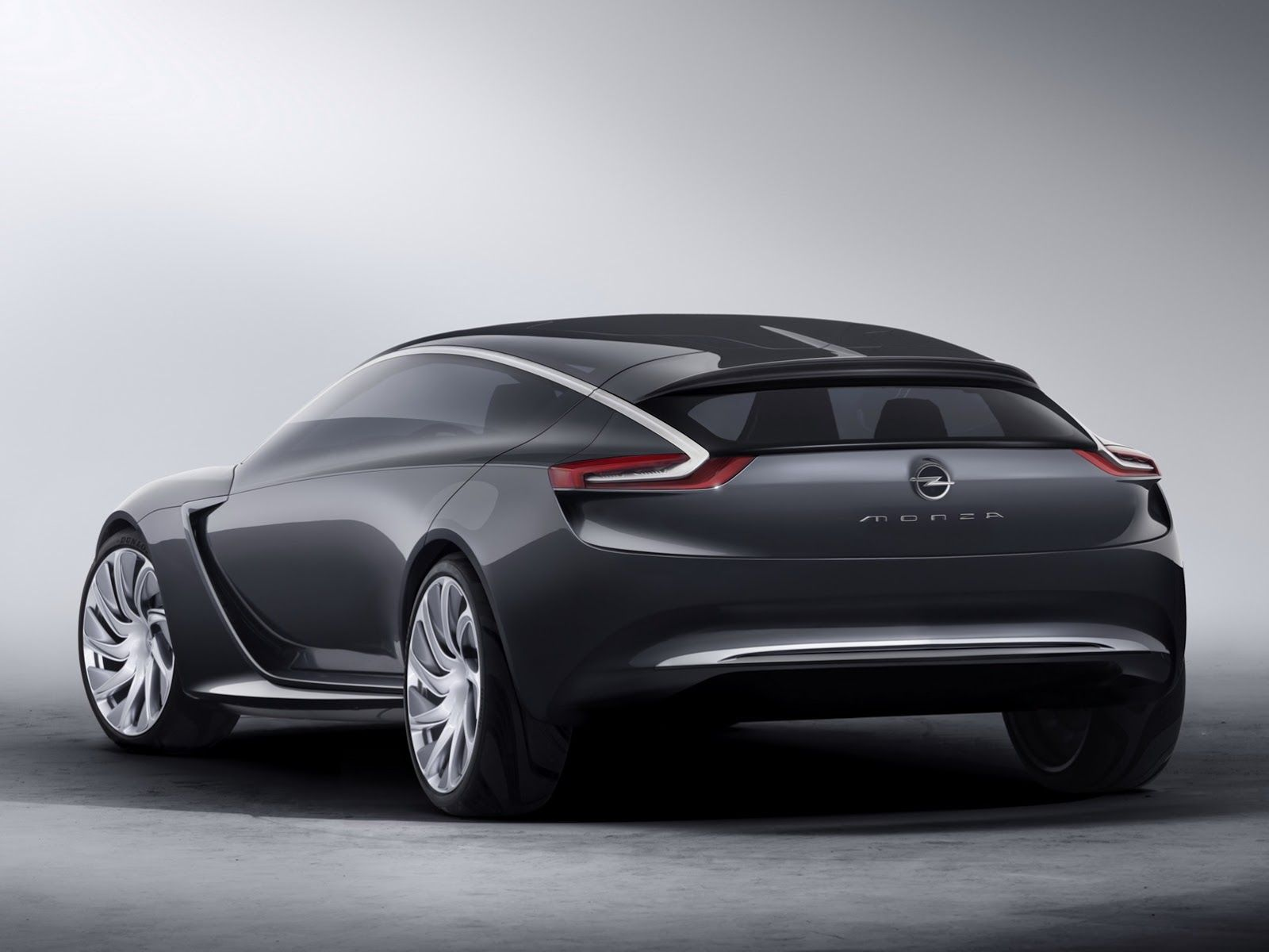 New Monza Concept Is Opel S Idea Of A Coupe With Wings For Doors Concept Car Design Concept Cars Opel