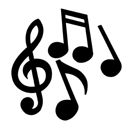 printable images musical notes | Universal PLS4.60 60W ...