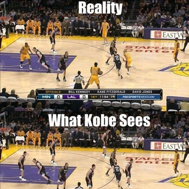 Haha, look carefully at the players on the court from the first and second picture
