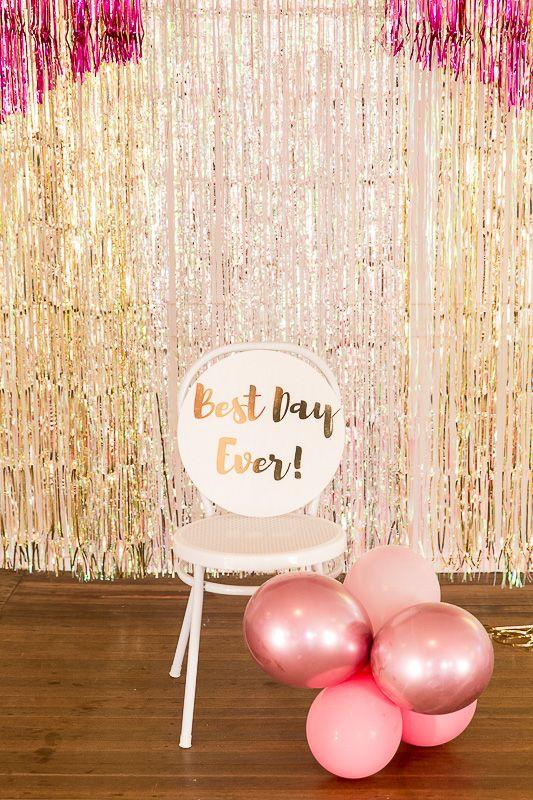 Aaleyah's Neon Glitter Birthday Party – Confetti Fair