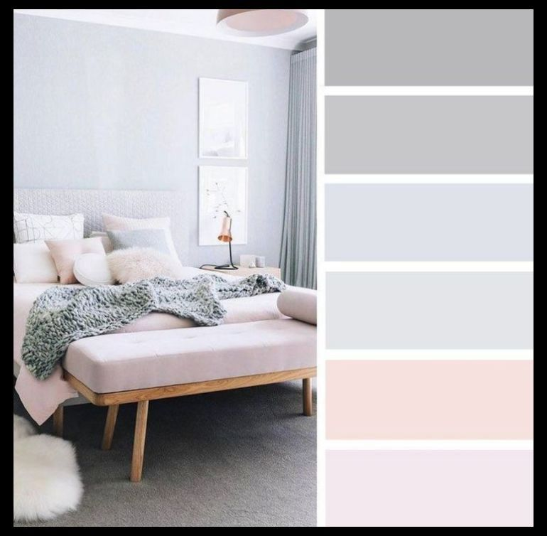 Amazing Bedroom Colour Ideas Schemes Combination Inpiration Bedroomideas Bedroomcolou Beautiful Colors Color Palette